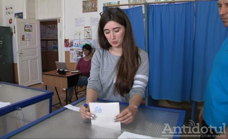 Surpriză de proporții la o secție de votare din Galați: un alegător s-a prezentat la urne