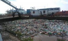 I-a speriat Garda de Mediu: cârciumarii de pe pontoane și reprezentanții Navrom Bac fac curățenie pe malul Dunării
