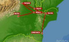 150 de milioane de euro, marja de para-ndărăt la drumul expres Brăila-Galați