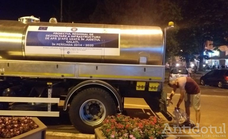 """Gălățean supărat pe autorități: """"Băi, nesimțiților, ne-ați lăsat fără apă aproape o zi"""""""