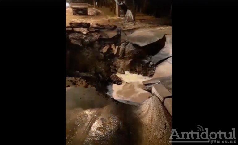 Apă Canal (Gelu Stan) crapă de incompetență! O nouă avarie lasă jumătate de oraș fără apă!