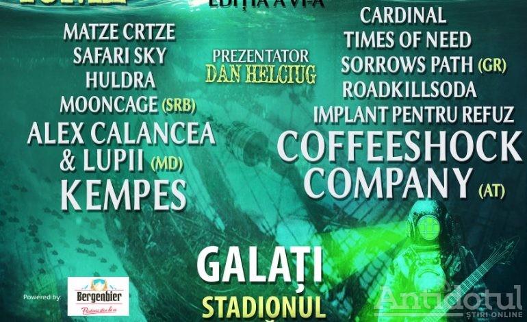 Danube Rock Festival, ajuns la cea de-a VI-a ediție la Galați