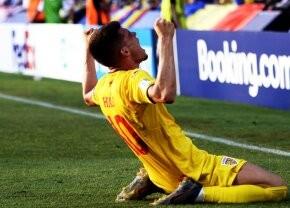 """ROMÂNIA U21 // Ianis Hagi, mesaj emoționant pe Facebook: """"Vom juca pâna la ultimul strop de energie. Ați fost portavocea milioanelor de inimi de acasă"""""""
