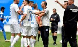 CRAIOVA - CLINCENI 3-2 // Corneliu Papură neagă problemele oltenilor + De ce l-a scos pe Marian Șerban, jucător U21, în prima repriză