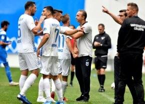 CRAIOVA – CLINCENI 3-2 // Corneliu Papură neagă problemele oltenilor + De ce l-a scos pe Marian Șerban, jucător U21, în prima repriză