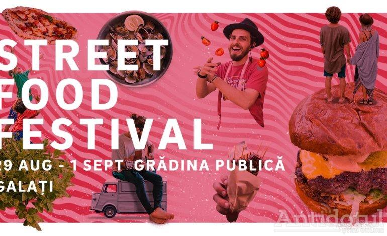 Mâncarea gătită chiar în fața ta, preparate cu specific internațional și multe concerte în mijlocul mulțimii vor avea loc weekend-ul acesta la Street FOOD Festival Galați în Grădina Publică