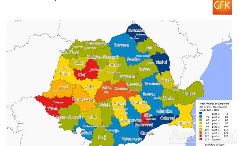 Românii câștigă mai mult, deci gălățenii trăiesc mai prost