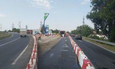Modificare în intersecția de la Șendreni. Autoritățile spun că se îmbunătățește vizibilitatea șoferilor