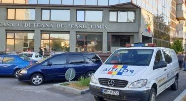 Hoţii au dat lovitura la Casa de Pensi din Timişoara. Au golit seifurile de 50.000 de euro