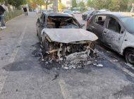 Piroman auto: un individ a provocat două incendii în parcarea aceluiași bloc din orașul Galați