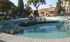 Galerie foto/Parcul Eminescu va fi inaugurat la ceas de seară de primarul Ionuț Pucheanu