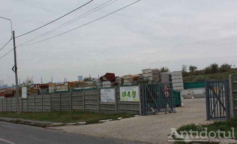 Puncte verzi pentru deșeuri