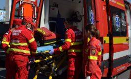 Microbuz de călători, răsturnat pe drumul Tecuci-Tișița. Șoferul consumase alcool