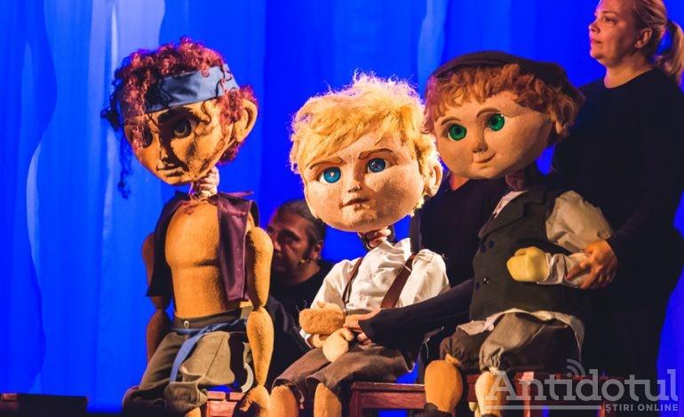 """Uimitoarele aventuri ale lui """"Peter Pan"""" te aşteaptă pe 22 septembrie la Teatrul Gulliver"""