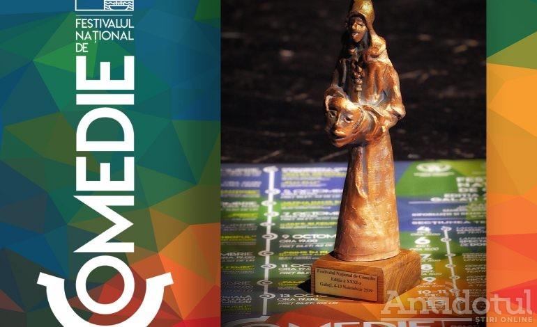 Trofeul Festivalului Național de Comedie de la Galați, restilizat: Arlechinul are o înfățișare nouă