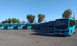 VIDEO S-a spart țeava cu autobuze. 60 de autobuze noi ajung la Galați în doar câteva zile