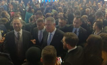 VIDEO/Klaus Iohannis a venit în vizită electorală la Galați. Subiectul la modă a fost infrastructura