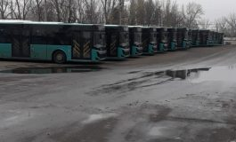 Petrecere mare în garajul Transurb. 20 de autobuze de mari dimensiuni au ajuns la Galați