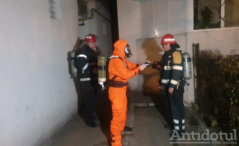 VIDEO Ce s-a întâmplat la blocul din Galați, evacuat din cauza unei substanțe chimice necunoscute