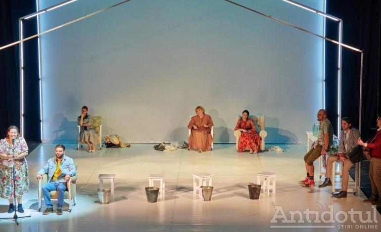 """Premieră la Teatrul Dramatic """"Fani Tardini"""": spectacolul biografic """"MaMe"""""""