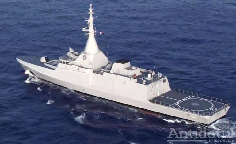 Premieră națională la Galați: la șantierul naval Damen a fost construită prima corvetă