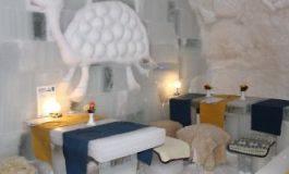 Complexul Igloo Village, care a înlocuit în acest sezon Hotelul de Gheaţă, a fost inaugurat oficial la Bâlea Lac