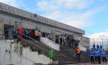 Jandarmeria Dâmboviţa a luat măsuri speciale la meciul de volei feminin, CSM Târgovişte – CSU Belor Galaţi