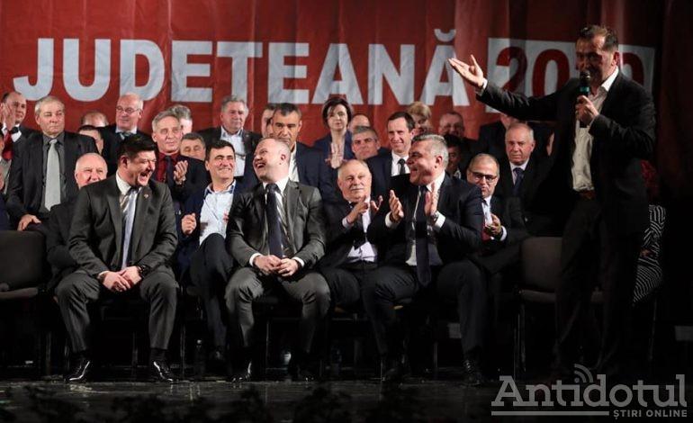 De ce sau de cine râdeau pesediștii la lansarea candidaților pentru alegerile locale