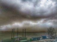 VIDEO/ Furtuna de nisip din Galați i-a speriat pe gălățeni. Și coronavirusul!