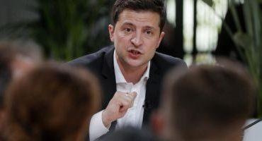 Vladmir Zelenski consideră inadmisibile negocierile directe cu reprezentanţii grupurilor armate ilegale din Doneţk şi Lugansk