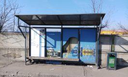 VIDEO/Maimuța PAM din Braniștea a distrus o stație de autobuz din Galați