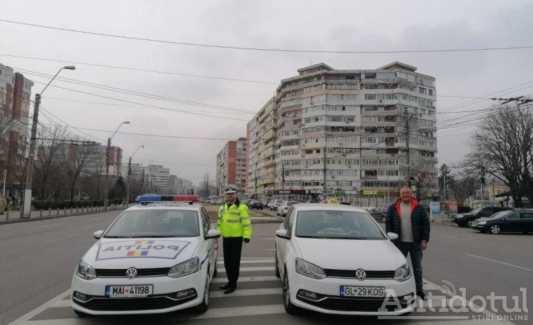 Polițiștii fac cinste de 40 de pahare. Șoferii din Galați primesc călătorii gratuite cu taxiul de la cârciumă până la domiciliu