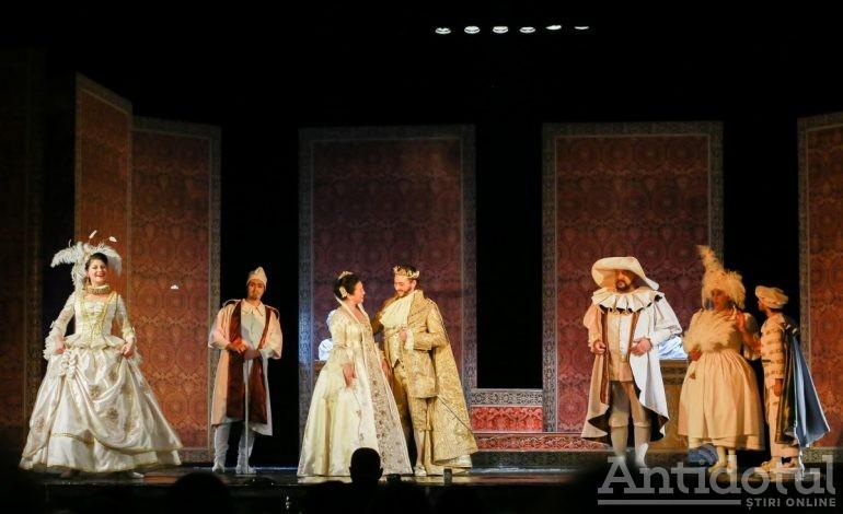 """""""Regele Cerb"""" se difuzează online de Teatrul Național """"Nae Leonard"""""""