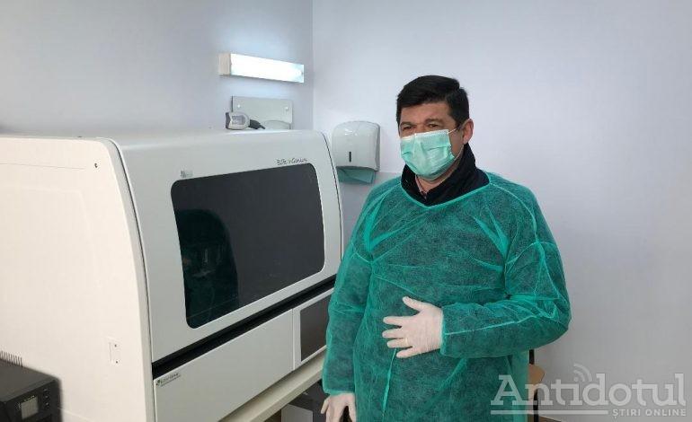 VIDEO Aparat pentru depistarea COVID-19, la Galați. Echipamentul a fost montat la Spitalul Județean