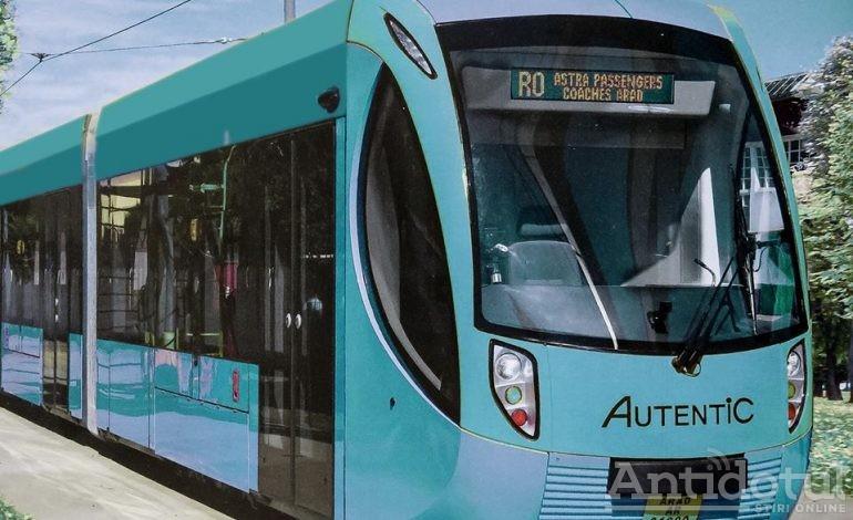 Primăria Galați a achiziționat 8 tramvaie noi, live pe Facebook