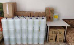 VIDEO Oferte pe timp de criză: o firmă din Galați vindea clor amestecat cu apă