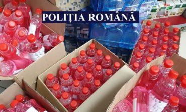 O farmacie din Constanţa vindea soluţie de curăţare drept alcool sanitar