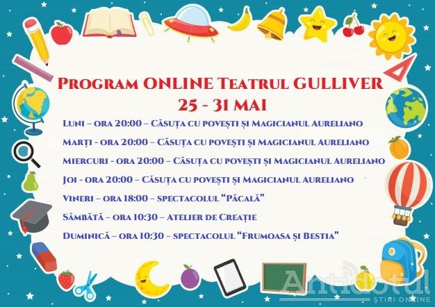 """Prinde și tu ritmul magic de poveste la Teatrul """"Gulliver"""""""