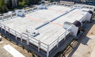 VIDEO/Parcarea de la Spitalul Județean este gata. Arată bine și este gratuită!
