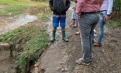 Drumuri și trenuri blocatedin cauza inundațiilor la Galați