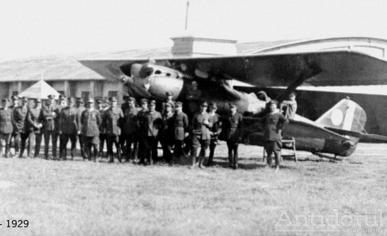Moment de sărbătoare. Se împlinesc 94 de ani de la primul zbor comercial din România cu plecare de la aeroportul Galați
