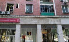 Galerie foto/Un gălățean a încercat să dea foc sediului PSD