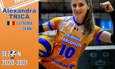 Volei feminin. Alexandra Trică a semnat pentru un nou sezon cu CSM