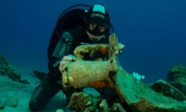 FOTO Grecia a inaugurat primul muzeu submarin, o epavă antică