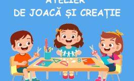 """Atelier de joacă și creație la Teatrul """"Gulliver"""""""
