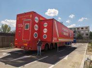 VIDEO/Stan și Bran, agenți electorali în timpul vizitei ministrului Sănătății la Galați: ușa unității mobile ATI s-a blocat când a ajuns Tătaru