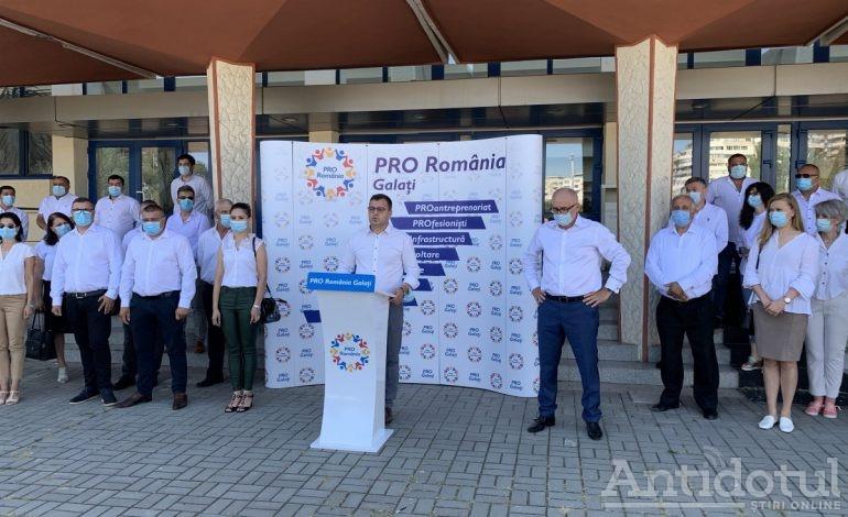 Pelerinajul la Biroul Electoral a fost început de Pro România
