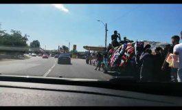 UE, Rromânia: cu alaiul de înmormântare pe drumul european