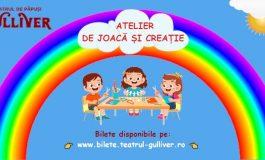 """O nouă experiență creativă la Teatrul """"Gulliver"""""""