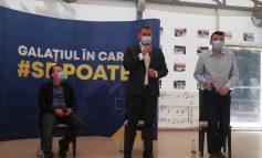 """Ministrul Finanțelor Publice, la Galați: """"Sunt optimist, economia își revine"""""""